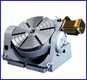 Milling Machine Heavy Duty 4 Inch Tilting Rotary Table Horizontal And Vertical