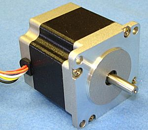 SM86-80 -- stepper motor, 44 in-lb torque - Precision stepper Motor