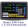 DRO4 -- Digital Readout for 4 axis